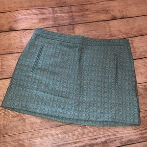 [Q Mack] Ladies Houndstooth Tweed Skirt